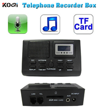 Call recording equipment for telephone line recording from PSTN without computer by SD card used for call recording equipment(China)