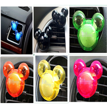 Fashion car export perfume car air freshener creative jewelry in addition to odor car 2pcs / animal shape auto parts