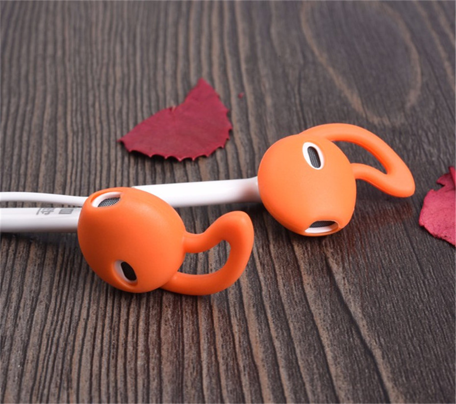 Ouhaobin Popular Earphone Cover Tips Hook for Airpods Anti-Slip Soft Silicone Earphones Earbuds High Fashion Top Sale Sep14