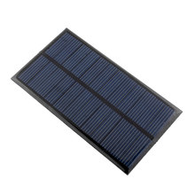 6V 1W Solar Panel Bank Solar Power Panel Solar System Module DIY For Light Battery Cell Phone Toys Chargers Drop Shipping