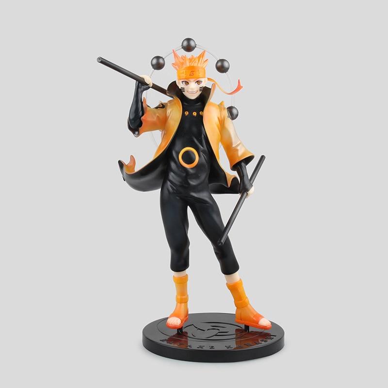 Naruto Shippuden Figure 22cm Naruto Uzumaki Ootutuki Hagoromo Six Immortal Mode PVC Action Figure Collectible Model Toy With Box<br><br>Aliexpress
