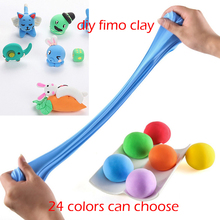 air dry modeling Clay mud fluffy Slime DIY Foam Clay Fimo Playdough light plasticine intelligent Toys for children Polymer clay(China)
