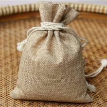 "1000pcs Hot 13x18cm/5""x7"" Jute Burlap Drawstring Favor Bags For Candles Jewelry Handmade Soap Wedding Favor Packaging ZA1196"