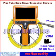 20 Meter Cable Portable Pipe Drain Sewer Snake Inspection Camera Recording Video Borescope Endoscope 120 Degree View Angle