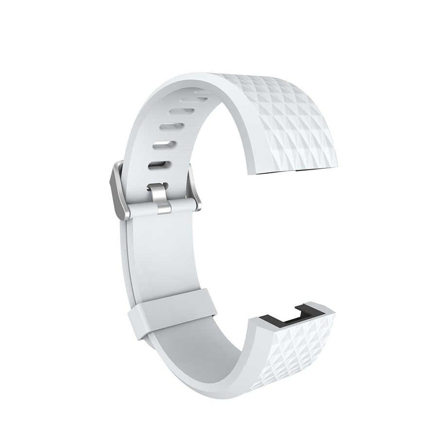 Горячая Смарт-браслет запасные части для FitBit Charge 2 ремешок для Fit bit Charge2 Гибкая повязка на запястье алмазный браслет с формами