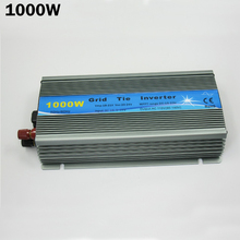 Grid Tie Inverter 1000W MPPT function Pure Sine Wave 110V output 18V Input Micro On Grid Tie Inverter 18V 36 Solar Cells(China)