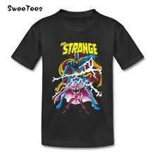 Dr. Strange T Shirt Kids Cotton Short Sleeve Crew Neck Tshirt children's Garment 2017 Lovable T-shirt For Boys Girls