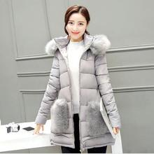 Cheap wholesale 2017 new Autumn Winter Hot sale women's fashion casual YX1067 snow warm Coat waterproof Jacket