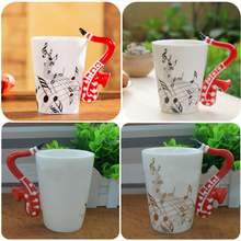 HearTogether Brand Novelty Coffee Mug Music Lovers Milk Tea Water Cups Fashion Ceramic Drinkware