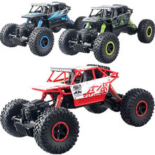 RC Rock Racing Vehicle Cars 2.4Ghz High Speed 1:18 Remote Radio Control Electric Crawler Buggy Hobby Car Crawler Truck F @ZJF