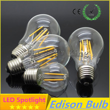 LED bulb E27 LED G45 AC 220v E14 Vintage Warm White 6W 12W 24W Edison lamp Filament Decor Lamp Led Specialty Decorative Light(China)