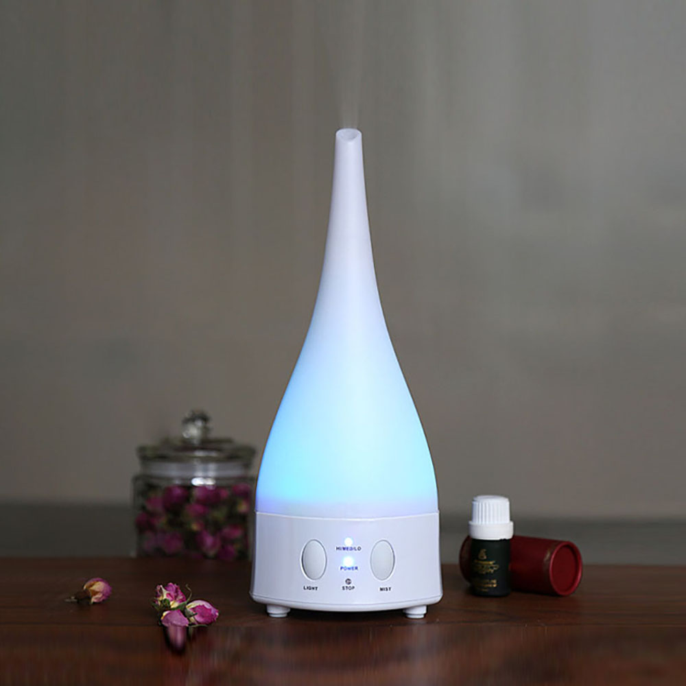 Mini Music Changing Color Ultrasonic Air Humidifier Essential Oil Aroma Diffuser Aromatherapy Home Office Mist Maker Fogger<br>