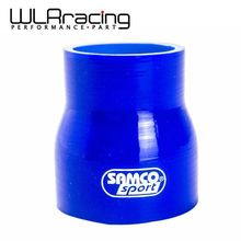 "WLRING STORE- BLUE Hot Sale 2""-2.5"" 51mm-64mm SILICONE HOSE STRAIGHT REDUCER JOINER COUPLING WLR-SH02025(China)"