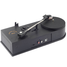 2017 Retro EC008B USB Portable Mini Phonograph Turntable Vinyl Audio Player Support Turntable Convert LP Record MP3 CD Players