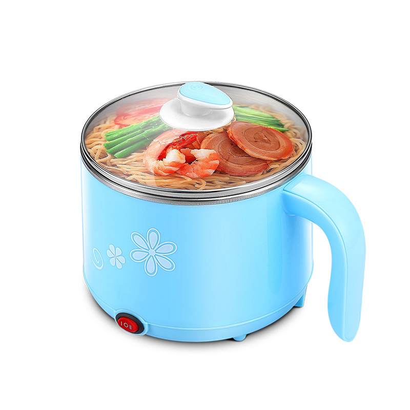 2017 New Arrivial Safe Stainless Steel Material Electric Kitchen Pot Hot Pot Skillet 300W-600W Power Steam Boil Multi Functions<br>