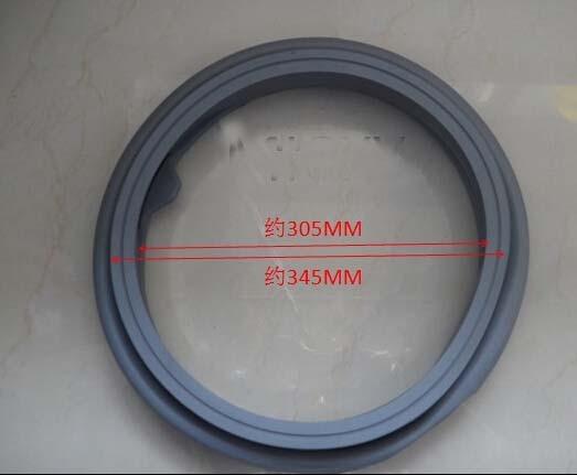 WF8500NHW WF9508NHW WF9600NHW WF0600NHS washing machine rubber door seal<br>