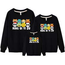 Mother & Kids Family Clothing Father and Son Clothes Korean Clothes Shop Mother Daughter Outfits Family Outfit Sweatshirt DC318(China)