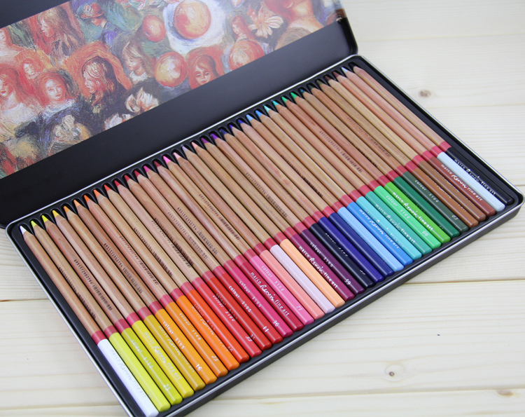 36 colors/set Macro 3100-t Colored Pencil Set Iron Box Drawing Painting Pencil Art Design Students Puplis Stationery Fine Art<br>