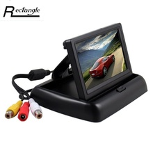 4.3 inch HD Car Monitor for Rear View Camera Reserving Digital LCD TFT Display Screen For Car Truck Vehicle Mirror Monitor