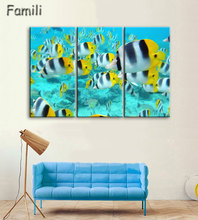Modern Painting Home Decorative Art Picture Paint on Canvas Prints The fascinating underwater world For Room Modern Art Picture