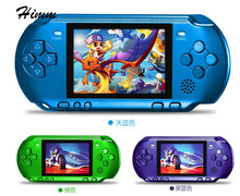 New Handheld Game Console 3.2 inch Children Game Machine CoolBaby Built 318 Games Classic FC Game PSP Support AV Double Player(China)