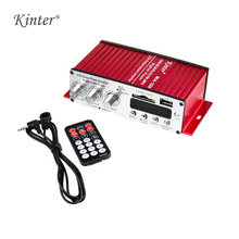 Kinter MA-120 2CH Portable 12V HiFi Audio Amplifier Speaker Support FM SD USB Input with 3.5mm Jack AUX Car Motorcycle Mp3