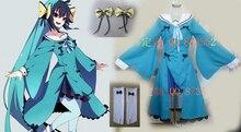 Pocket Monster Pokemon Eevee Showers Vaporeon Aquali Aquana Cosplay costume Anime custom size