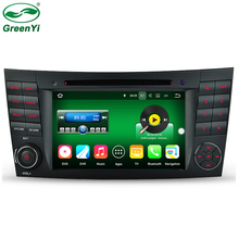 GreenYi 2GB RAM Android 7.1 Car DVD player Radio For Mercedes/Benz E Class W211 W209 W219 Car GPS Multimedia Navigation(China)