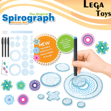 Spirograph Drawing toys set 20 Accessories Creative Draw Spiral Design Interlocking Gears & Wheels,Creative Drawing For children(China)