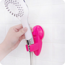 1Pc New Portable Adjustable Home Bathroom Shower Head Holder Super Wall Vacuum Suction Cup Mount Tool 6 Colors