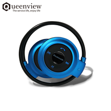 Queenview Cheap Wireless Sport Headphone Stereo Earphones fone de ouvido With Mic Micro SD Card Music Play FM Radio Supported