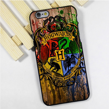Fit for iPhone 4 4s 5 5s 5c se 6 6s 7 plus ipod touch 4 5 6 back skins phone case cover Harry Potter Hogwarts On Wood