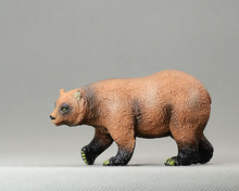 Animas Super fine animal models Alaska brown bear model Action & Toy Figures Decoration Collection(China)