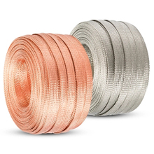 Cable-Sleeve Sheath Braided 10M Network for Power Audio-Speaker Metal 2mm-10mm Copper-Shield