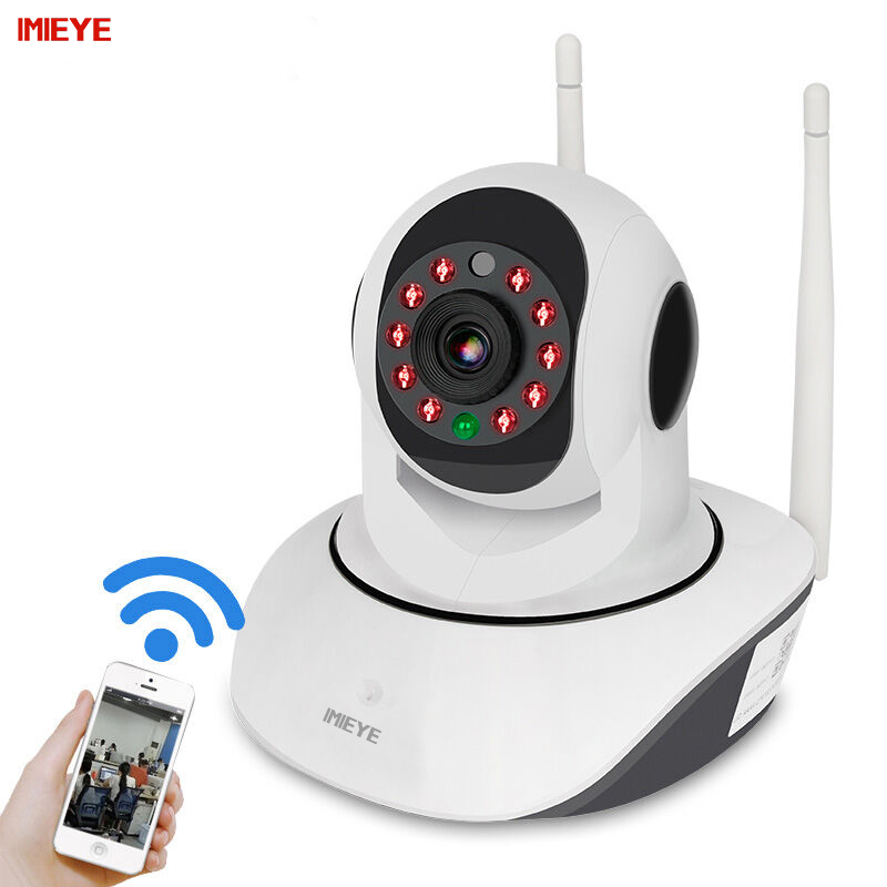 IMIEYE 1080P Full HD WiFi Wireless CCTV IP Camera IR Night Vision Surveillance Home Security Baby Monitor Pan Tilt Zoom Onvif<br>