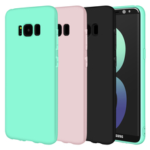 Matte Soft Silicone TPU Cover for Samsung Galaxy A3 A5 A7 J1 j2 J3 J5 J7 2016 2017 S3 S4 S5 S6 S7 Edge S8 Plus Grand Prime Cases