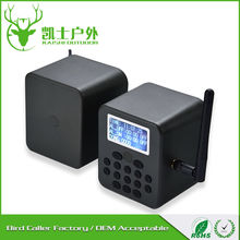 supplier popular good quality large game calls, sounds bird mp3, wireless remote control mp3 player