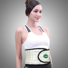 Leawell Waist Massager Lumbar Support Belt Cervical Traction Device Neck Care Massage Pneumatic Lumbar Traction(China)