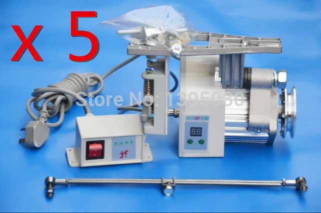 5PCS/Lot  New 400W Industrial Mute Servo Brushless Copper Wire Energy Saving Motor Sewing Machine<br><br>Aliexpress