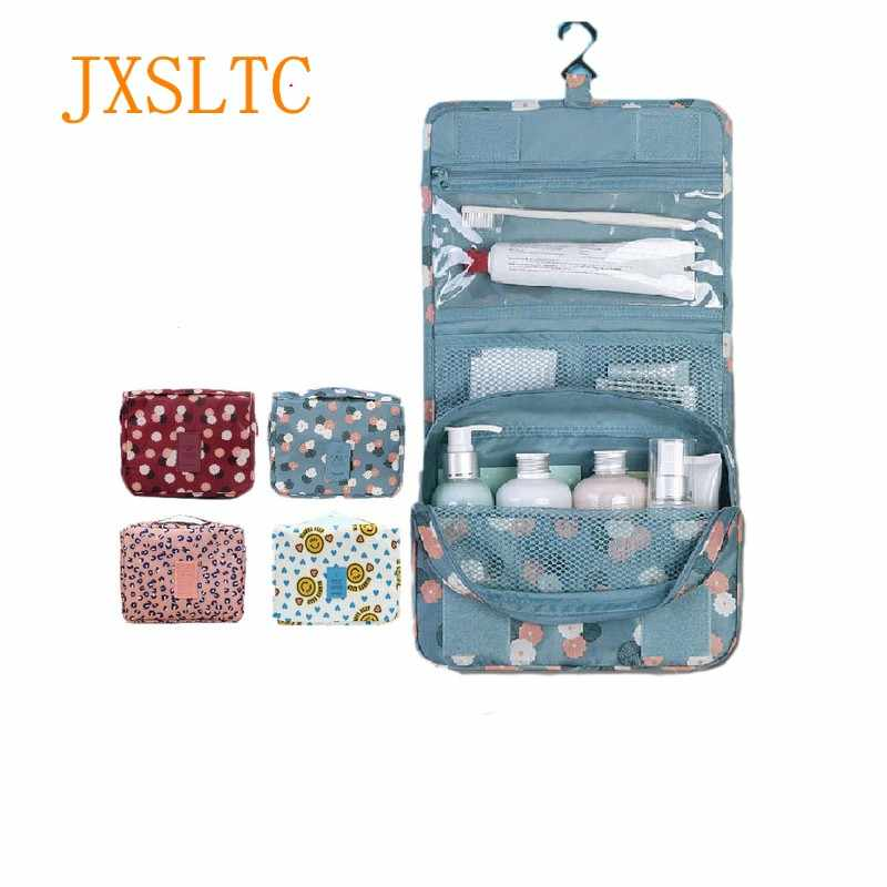 Portable Bathroom Hanging Organizer Toiletry Bag Waterproof Makeup Storage  Bag Travels Cosmetic Cases Wash Bag Shower 2b6f7837025ad