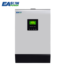 EASUN POWER 180A MPPT Solar Inverter 5kva 4000W 48V 220V Pure Sine Wave Inverter 3 MPPT Off Grid Inverter 60A Battery Charger(China)