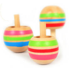 BOHS Magic Tippe Top Self-inverting Spinning Spinner Wooden Toy 3pcs(China)