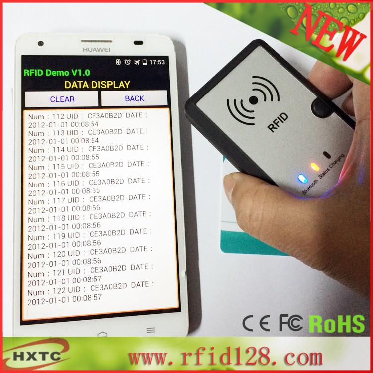2015 mewest 13.56MHz Contactless Wireless USB Bluetooth NFC RFID Reader Writer For Android system&amp;SDK software Free shipping<br><br>Aliexpress