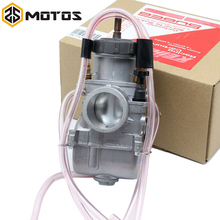 ZS MOTOS 34 36 38 40 mm PWK KEIHIN Motorcycle Carburetor Carburador Universal Used UTV ATV For Honda KTM Suzuki Kawasaki