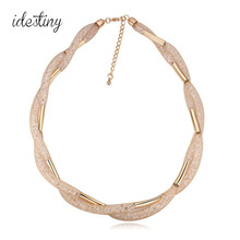 new arrival designer jewellery brands famous collar necklace choker necklace made with Austrian crystal best gift for women