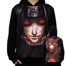 Naruto Costume Hoodies Cosplay Sasuke Uchiha Sweatshirt Zip Up Accessories