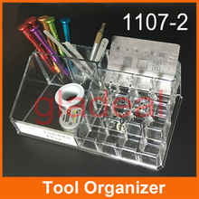 1107-2 Multifunction Box Tools Storage Cosmetic Organizer for Screw Little Parts Smartphone NAND IC Chip BGA Repair Kit