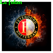 Full Diamond Painting A Century-old Feyenoord Diy Diamond Embroidery A Soccer Decoration For Livingroom A Good Gift For Family