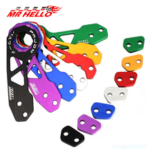 MR HELLO-JDM Style Racing Rear Tow Hook Aluminum Alloy rear tow hook for honda civic GK5