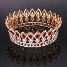 Principessa Diadema di Strass di Cristallo Della Sposa tiara corona per le  donne copricapo di Promenade di Cerimonia Nuziale Dei. 493e58afcfa0